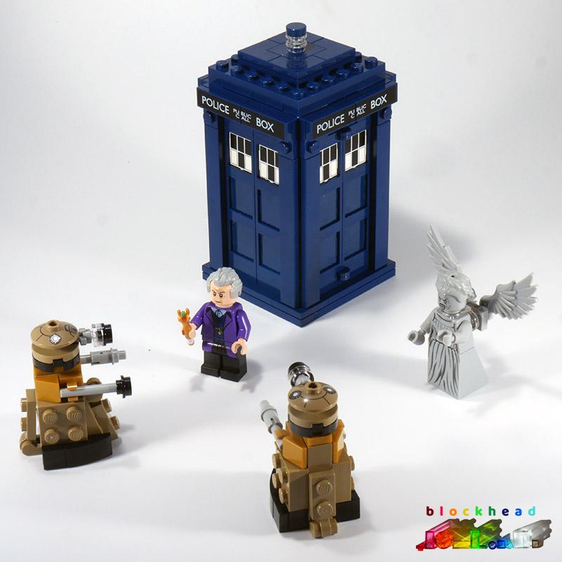 21304 Dr Who Tardis Exterior