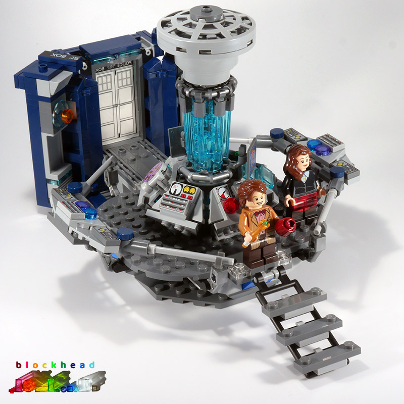 21304 Dr Who Tardis Interior LHS