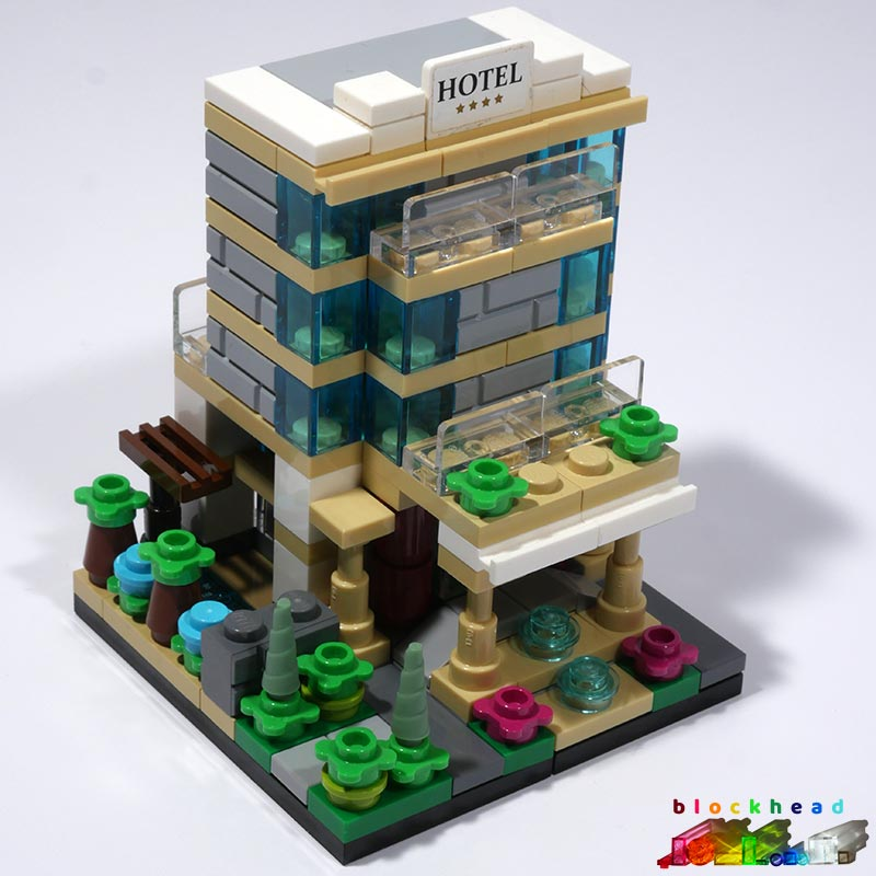 40141 Bricktober Hotel Built