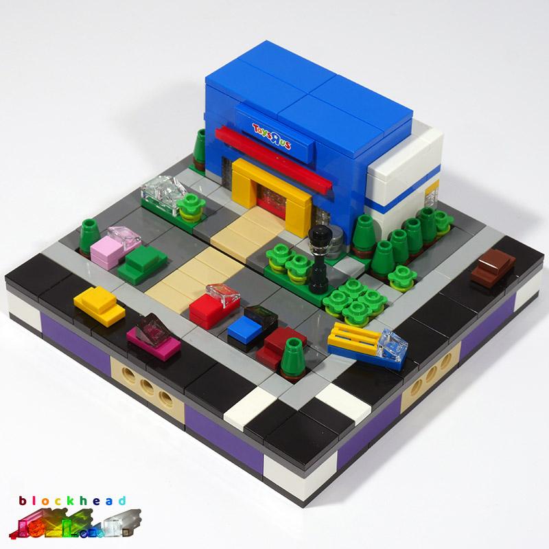 Micropolis Toys R Us Base