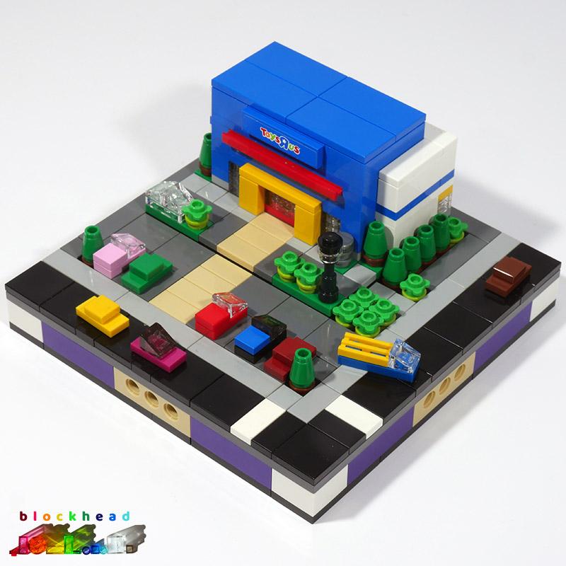 Micropolis Toys R Us Base