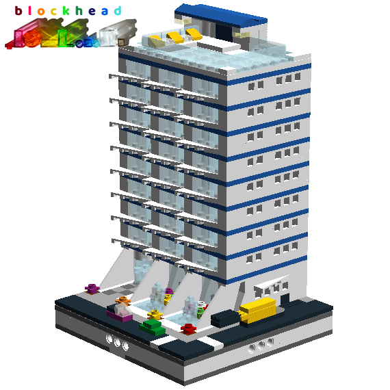 My first virtual MOC - Alexa Appartments