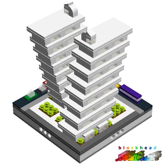 Virtual Micropolis - Octo Mansions Rear