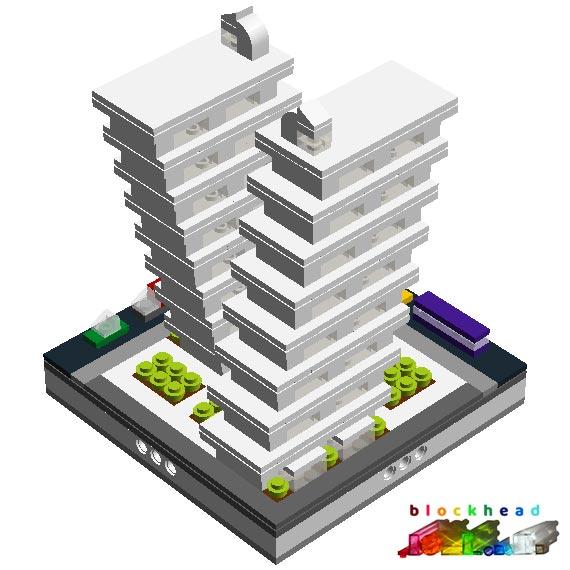Virtual Micropolis - Octo Mansions Rear
