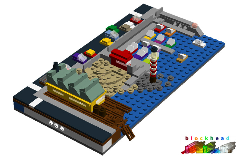 Virtual MOC Waterfront Wharf Rear