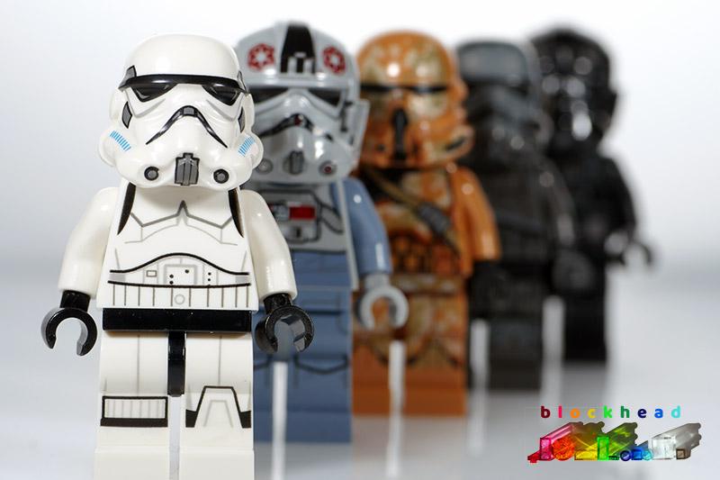 Storm Trooper Minifigs