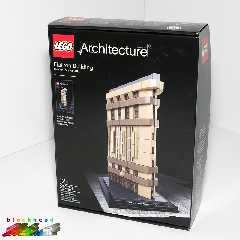 21023 Architecture Flatiron Box