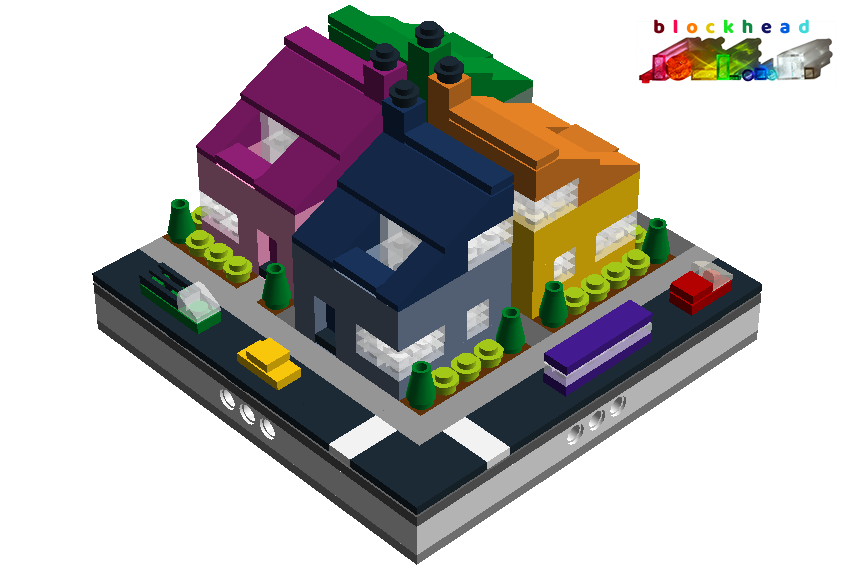 Virtual Micropolis - Four Square Front