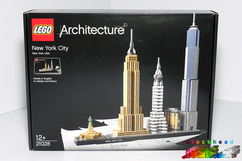21028 Architecture New York Skyline Box