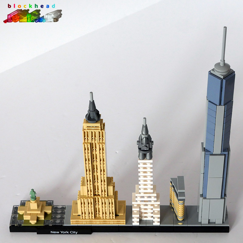 21028 Architecture New York Skyline Built