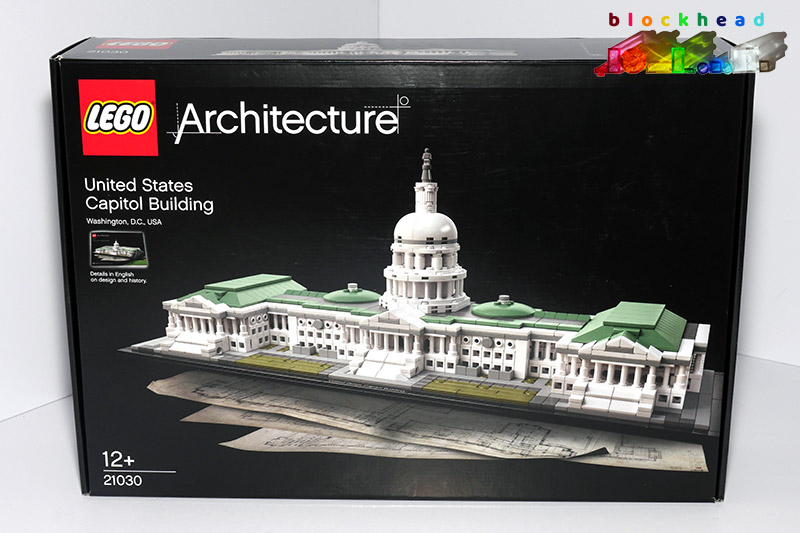 21030 Architecture US Capitol Box