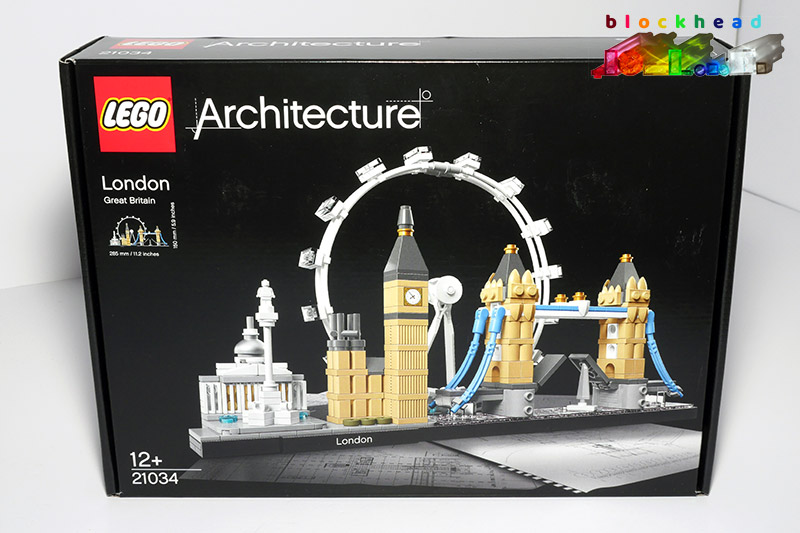 21034 Architecture London Skyline Box