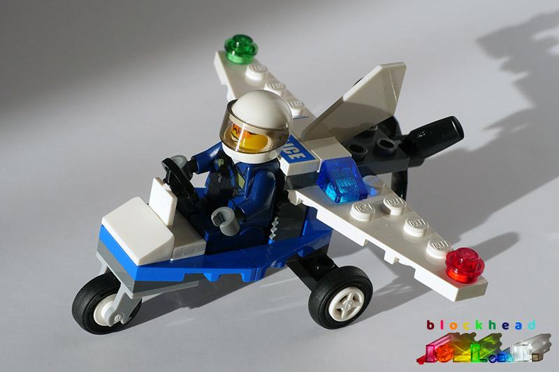 30018 Police Plane Polybag