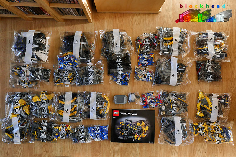 42055 Bucket Wheel Excavator Parts Bags