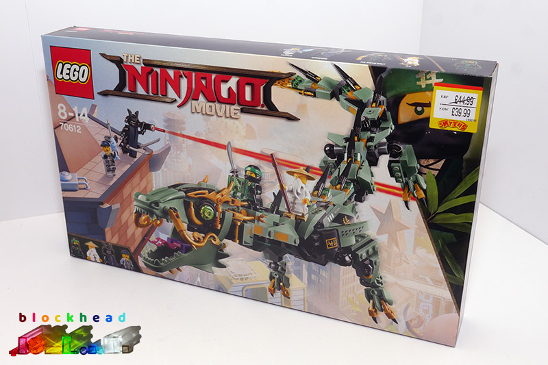 70612 Green Ninja Mech Dragon Box