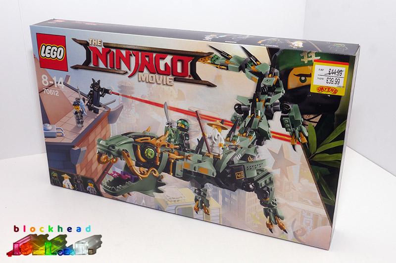 70612 Green Ninja Mech Dragon Box