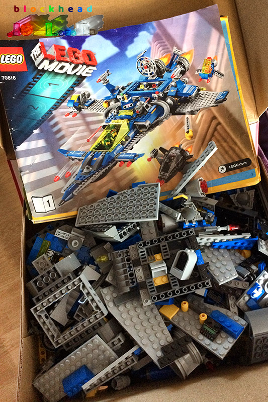 70816 Bennys Spaceship, Spaceship, SPACESHIP! Box of Bits
