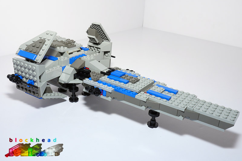 7151 Sith Infiltrator Built