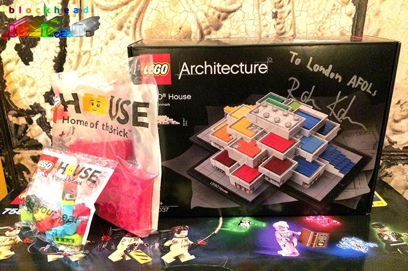AFOLs Christmas Raffle LEGO House 2017