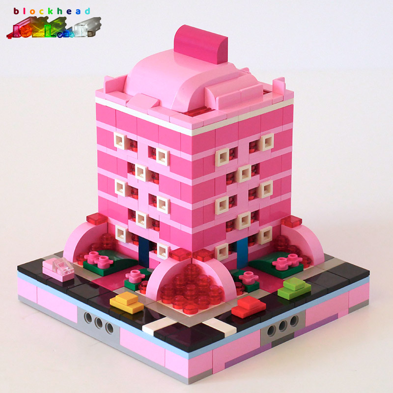 MOC: Raspberry House - Front