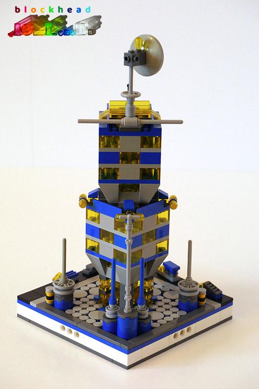 MOC: Intergalactic Tower - Rear