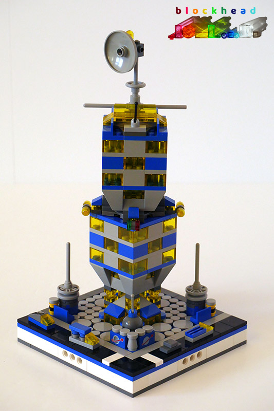MOC: Intergalactic Tower - Front