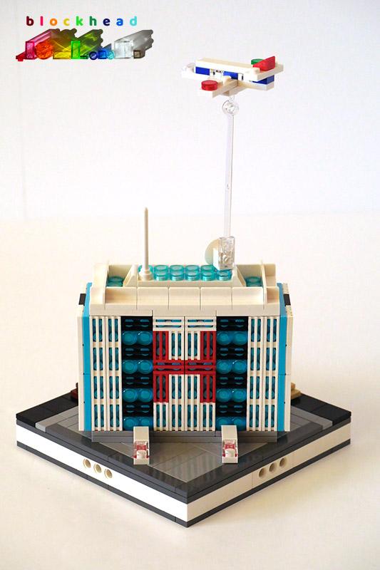 Micropolis General Hospital - Rear