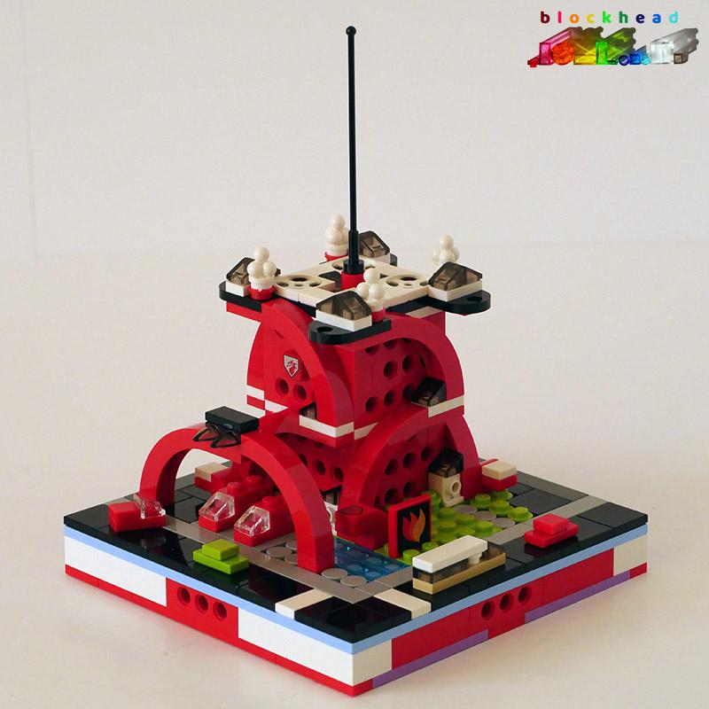 MOC: Fire HQ Front