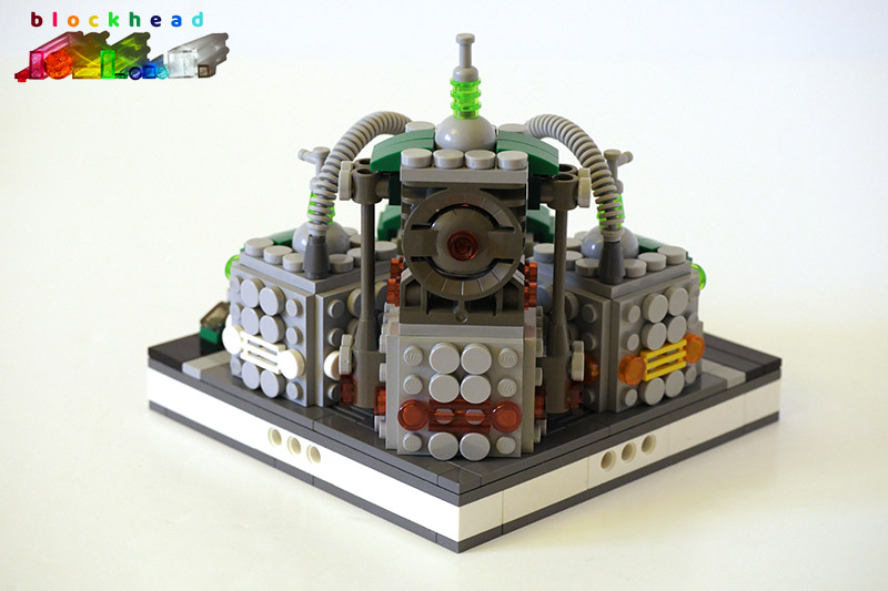 MOC: Green Energy Plant - Rear