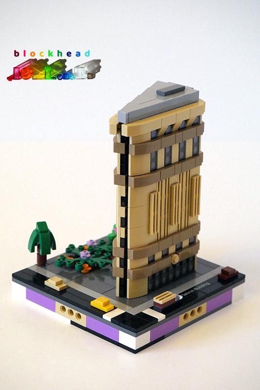 21032 Flatiron Building On Micropolis Base