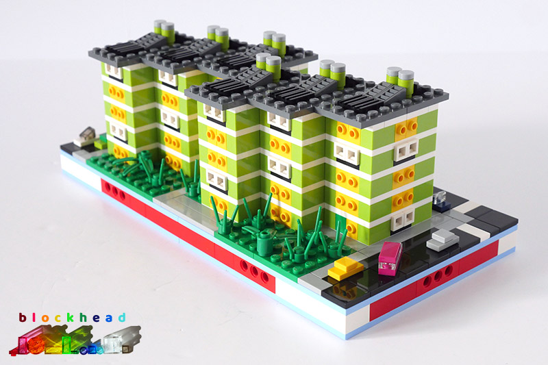 MOC: Limehouse Flats Rear