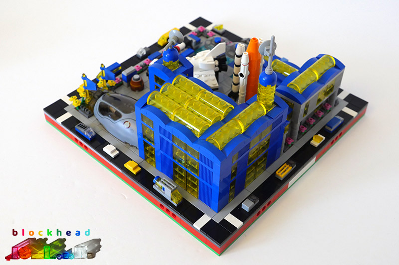 MOC - Air & Space Museum - Rear