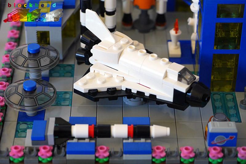 MOC - Air & Space Museum - Rocket Garden Exhibits