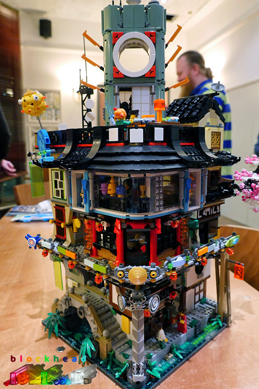 London AFOLs Jan18 Ninjago City