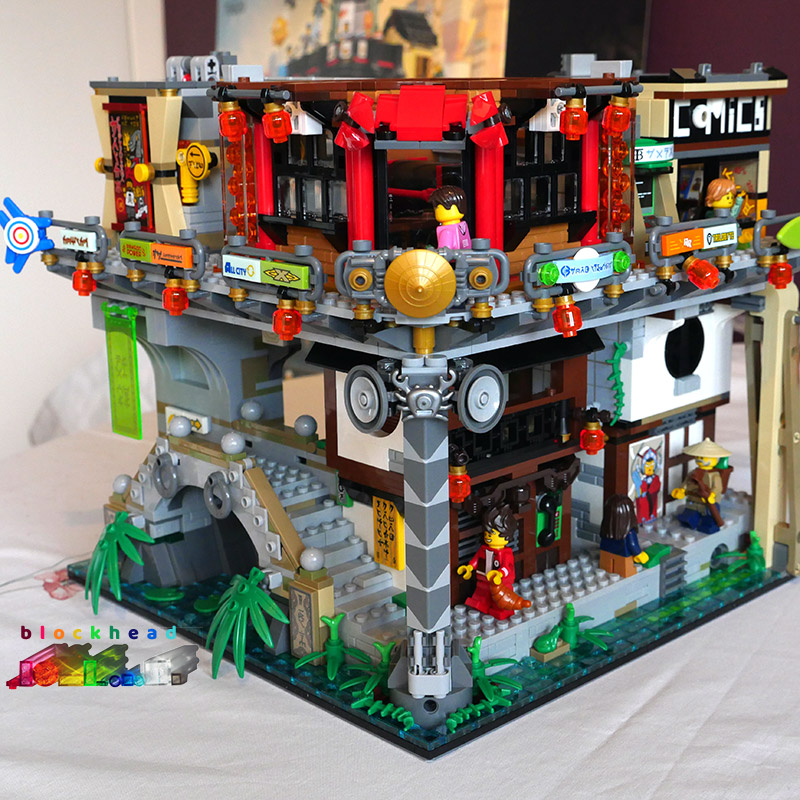 Ninjago City Bag 10