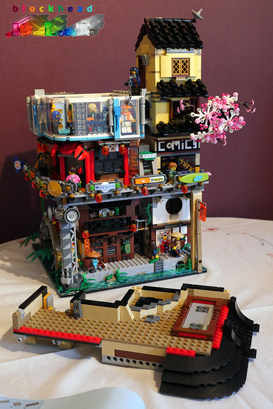 Ninjago City Bag 14