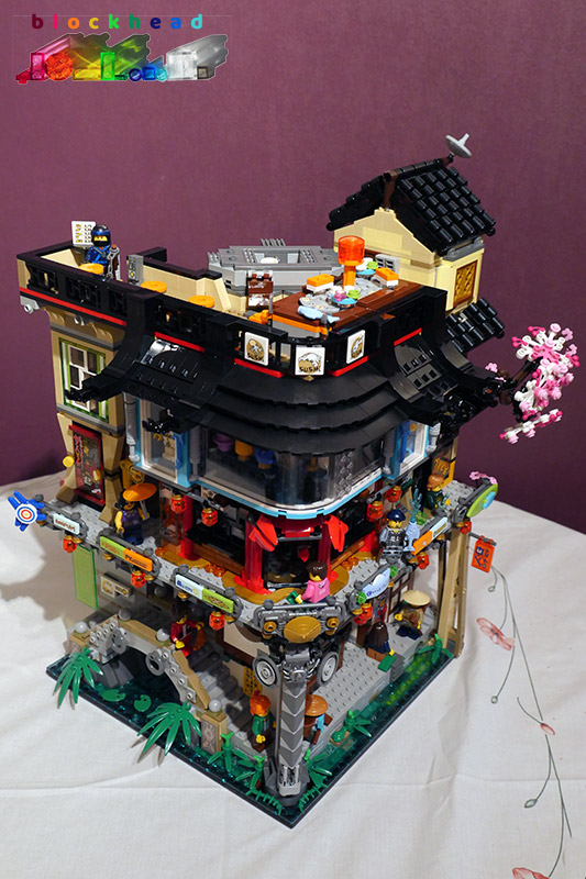 Ninjago City Bag 15 Complete