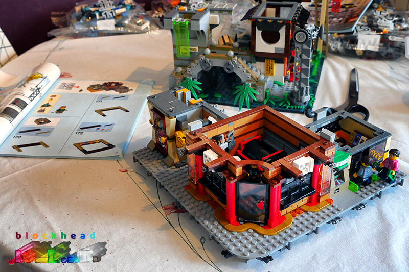 Ninjago City Bag 9 Complete