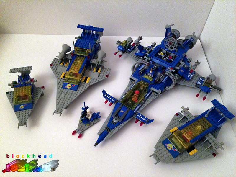 Spaceships Together At Last!
