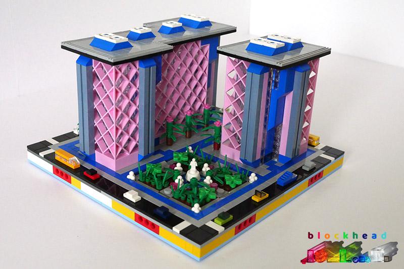 MOC Belville Place Complete Block - Front