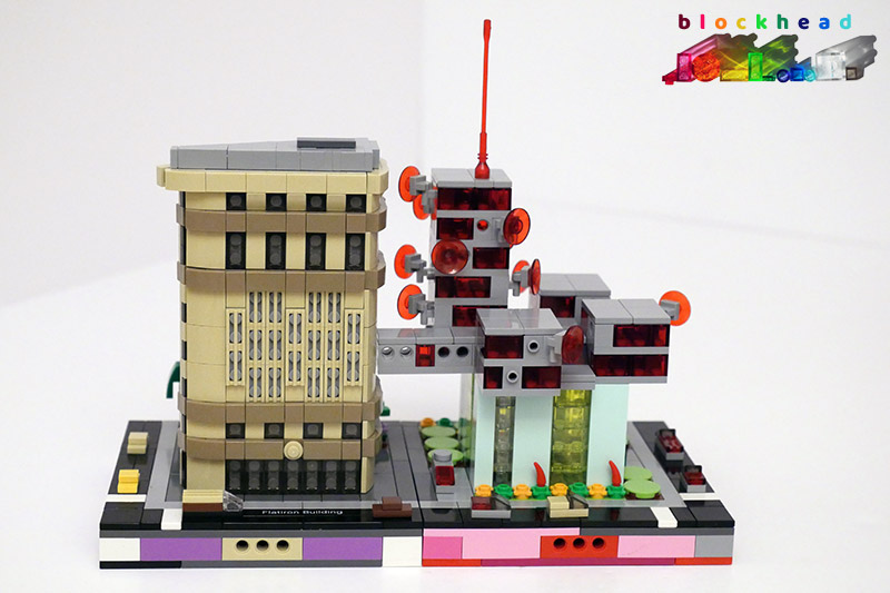 MOC - Micropolis Broadcasting Corporation - Old And New Broadcasting House