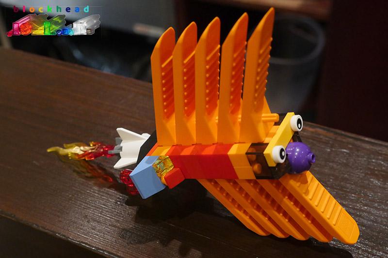 Brick Separator - Romulan Stealth Fish (Mine)