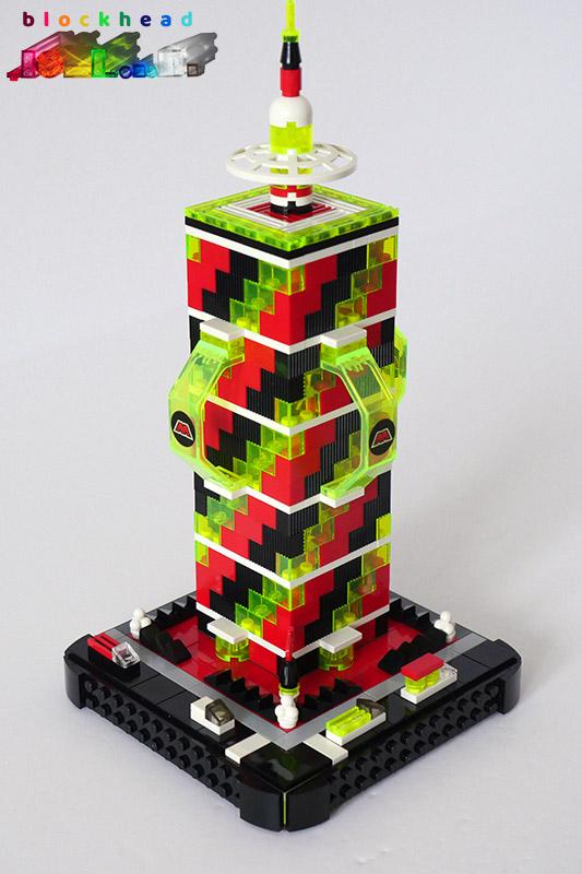 MOC - M:Tron Tower - Front