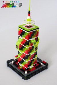 MOC - M:Tron Tower - Rear