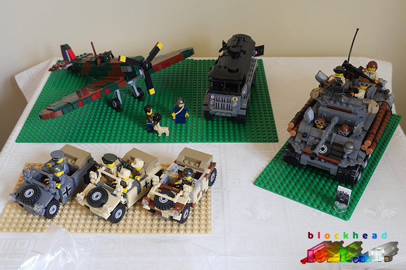 Brick Alley - March 2018 - Military MOCs