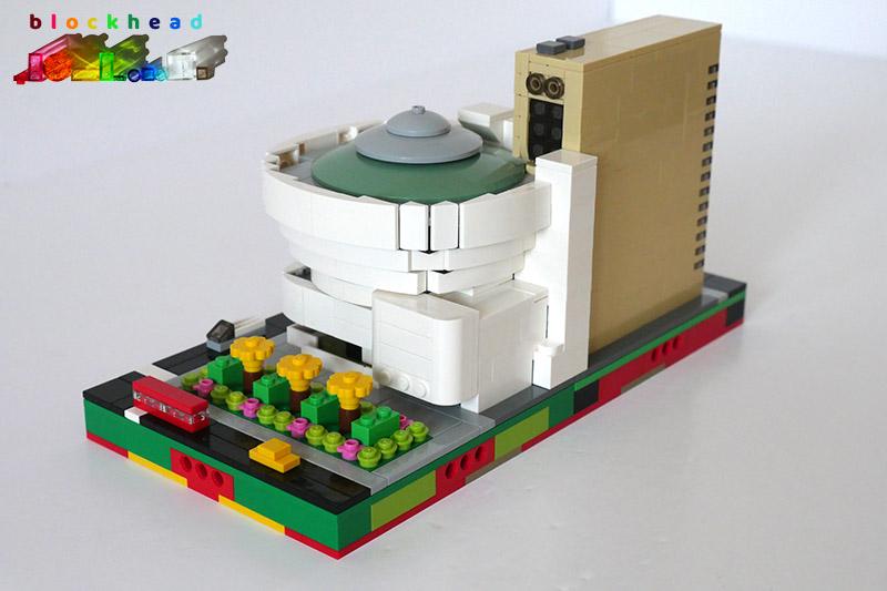 Guggenheim Museum - Rear