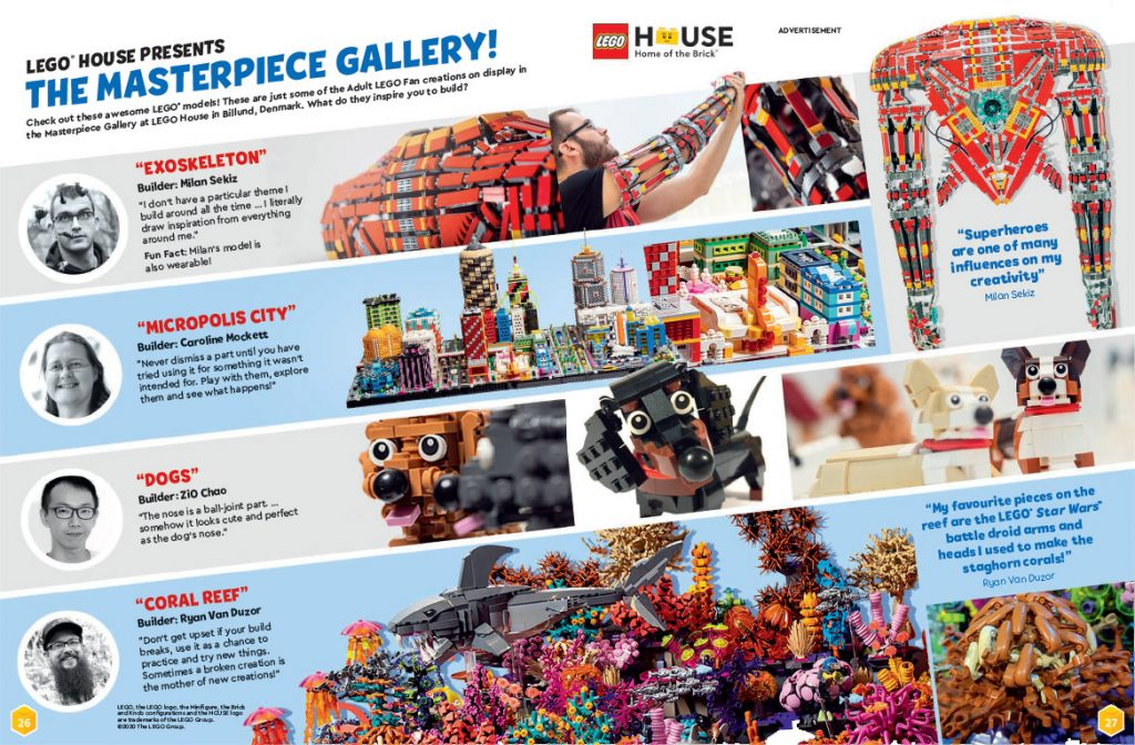LEGO Life Issue 3 Feature