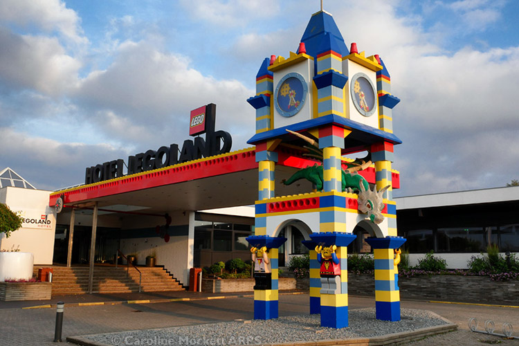 The LEGOLand Hotel in Billund