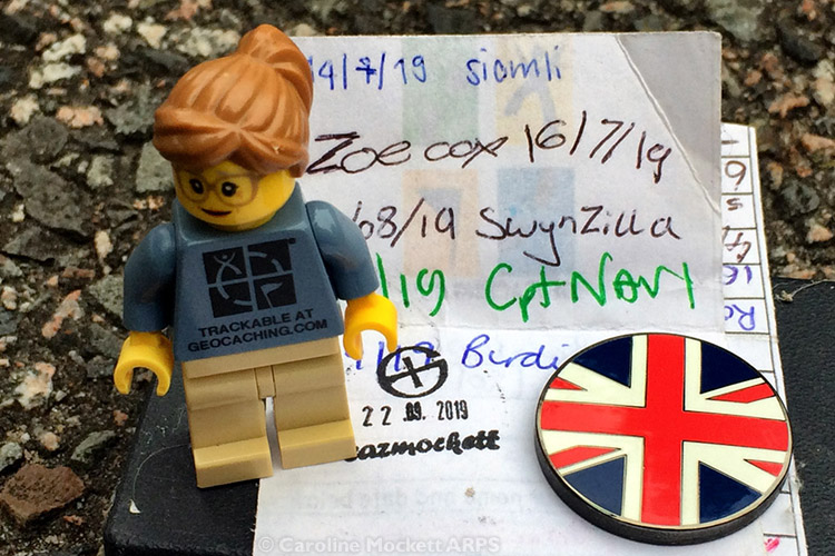 Geocache in the UK - Country No. 1 today