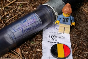 Geocache in Belgium - Country No. 3 today